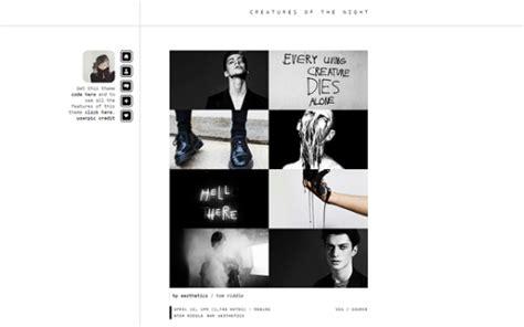 tumblr themes yeahps minimalist themes on tumblr