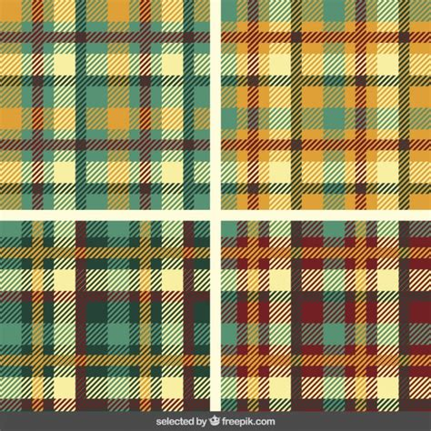 vector pattern tartan tartan patterns collection vector free download