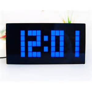 Cool Digital Clock Large Display Big Jumbo Creative Alarm Clock Light Digital