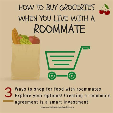 buy groceries      roommate