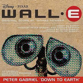 Cd Soundtrack Of Your to earth gabriel song