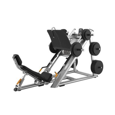 slanted bench press angled leg press dpl0601 precor ca