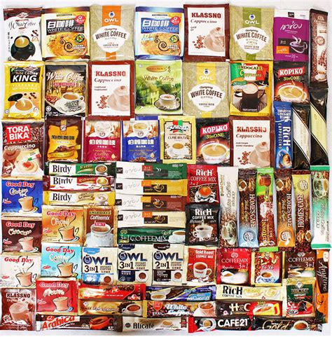 Minuman Luwak White Coffee 20gr 55 different flavors instant coffee from all the world sale global coffee
