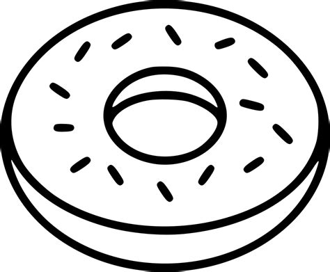 donut svg png icon    onlinewebfontscom