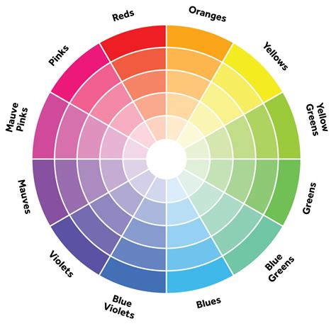 color wheel theory illustration design graphic design color theory color