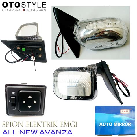 Switch Spion Xenia jual spion elektrik lipat toyota all new avanza xenia 2012 emgi otostyle