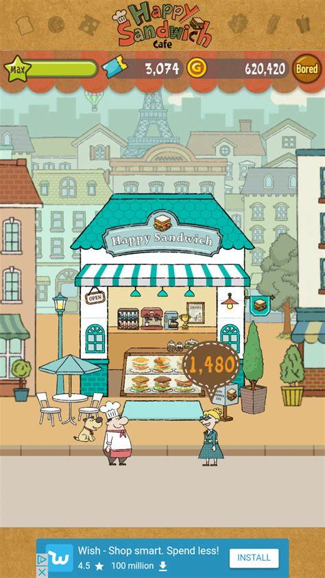 discussion   app happy sandwich cafe
