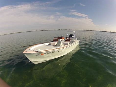 used key west flats boats for sale 20 foot willy roberts skiff flats boat picture of