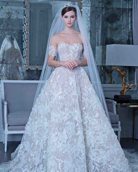 luxurious  sophisticated   wedding dresses