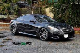 Infinity G37 Wheels Lary Crews Infiniti G37 Coupe Black Rims Images