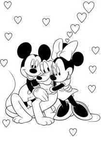 disney mickey minnie coloring pages coloringstar