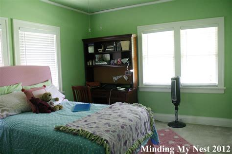 Blue And Green Bedroom - bedrooms and ballrooms minding my nest