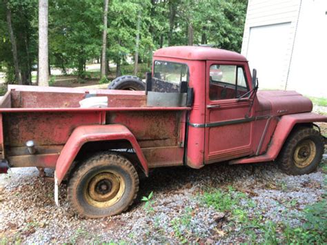 1962 Jeep Willys Truck 1962 Willy S Jeep