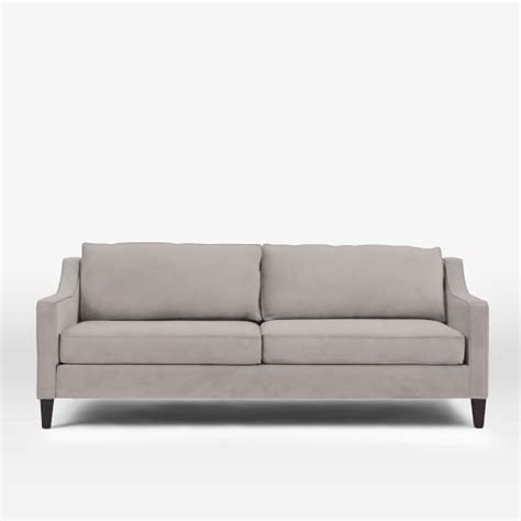 dove grey leather sofa west elm cyber week sale save 20 on furniture home
