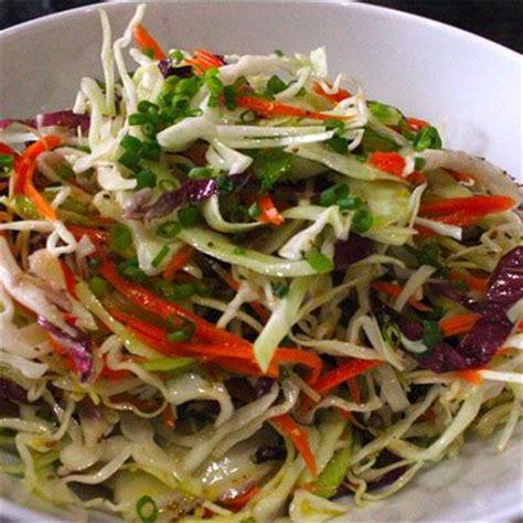 summer dinner ideas vinegar based coleslaw