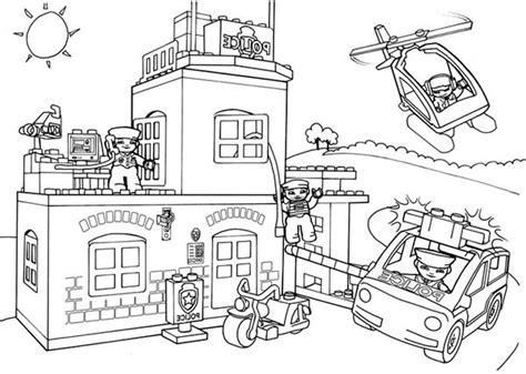 fire station coloring pages 23630 bestofcoloring com