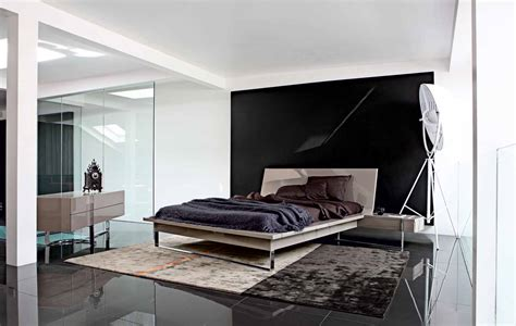 bedroom inspiration  modern beds  roche bobois