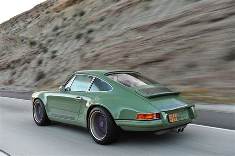 purple porsche 911 turbo photo gallery porsche 911 reimagined by singer in green