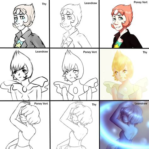 Pearl Meme - switch around meme pearl steven universe by leandraw on