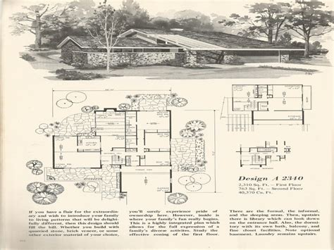 split level floor plans 1970 1970s house plans vintage 1970s split level house plans vintage home plans mexzhouse