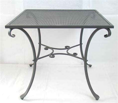 tavoli ferro battuto da esterno tavolo in ferro battuto quadrato 90x90h76 tavoli arredo