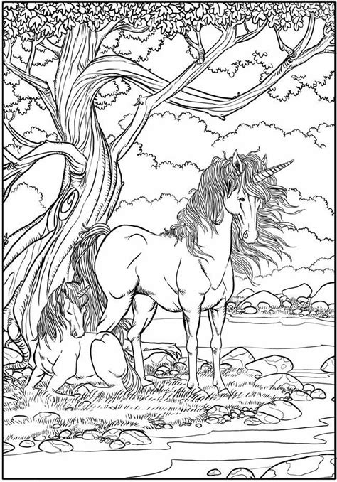 mythical creatures coloring pages patterns pinterest unicorns coloring page mythical creatures fantasy