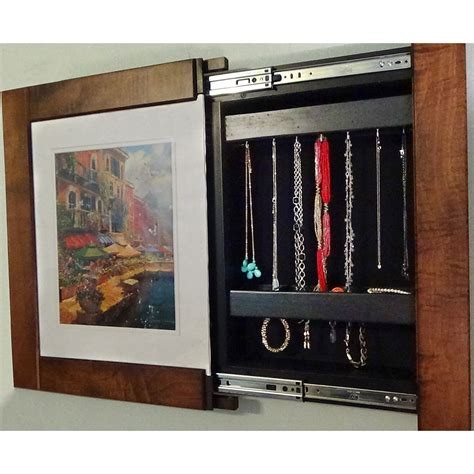 Organize Bedroom Closet picture frame wall safe in home safes