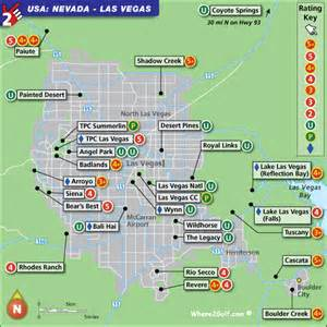 golf courses map las vegas golf map with top golf courses and best golf resorts