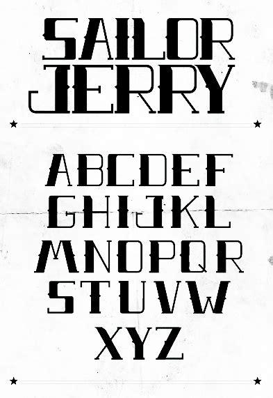 tattoo font sailor jerry sailor jerry font download