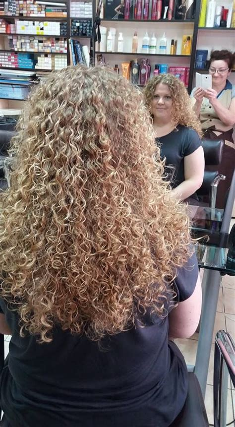 tight perms for hair 1000 ideas about long permed hairstyles on pinterest