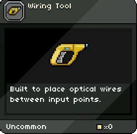 laser diode starbound wiring tool starbound wiki