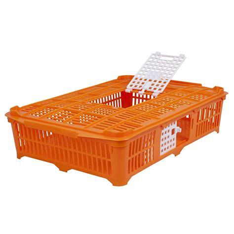 gabbia da gabbia da trasporto per piccioni quaglie arancione
