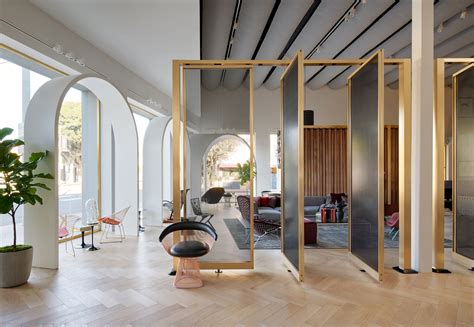 knoll home design store nyc 3novices knoll opens la store based on moroccan castle by