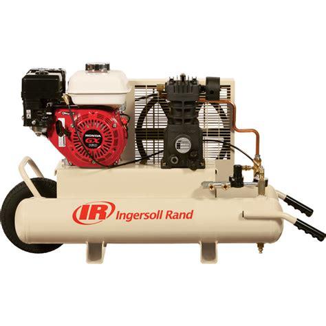 free shipping ingersoll rand gas portable air compressor 5 5 hp 11 8 cfm at 90 psi model