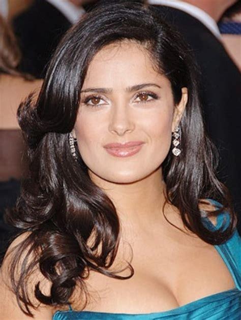 Salma hayek hairstyles radiant medium curls pretty designs