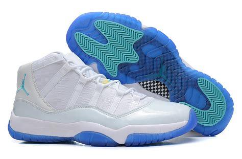 white 11 basketball shoes white blue white blue