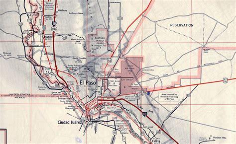 map of el paso texas texasfreeway gt el paso