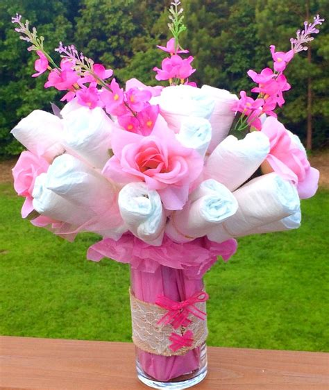 cake bouquet baby shower welcome gift