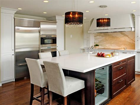 pictures of islands in kitchens beautiful pictures of kitchen islands hgtv s favorite