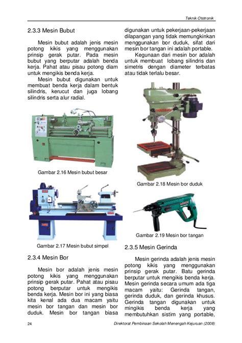 Bor Duduk Portable bab 2 proses pembentukan logam smt2