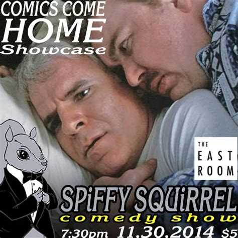 comics come home showcase spiffy squirrel comedy show