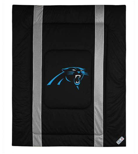 carolina panthers bedding nfl carolina panthers queen comforter sidelines football