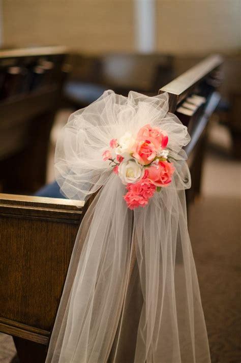 17 best ideas about wedding pew decorations on pinterest