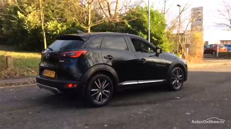 mazda cx3 black mazda cx 3 sport nav black 2015 youtube