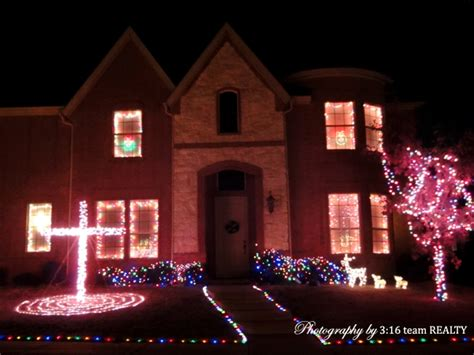 panther creek estates frisco tx christmas holiday lights