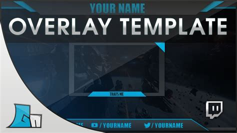 overlay templates for photoshop photoshop stream overlay template all colors free