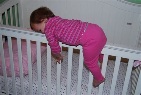 Baby Climb Out Of Crib by 10 Na Me Les