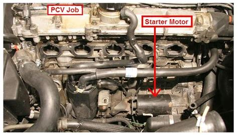step  step replacing  starter motor   page