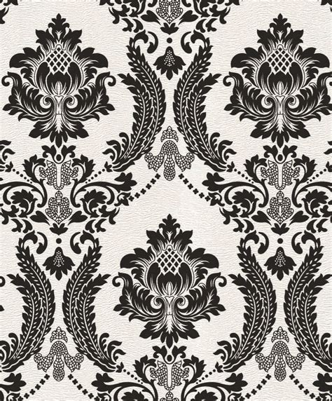 black velvet pattern wallpaper 2016 new design black vintage damask velvet flock