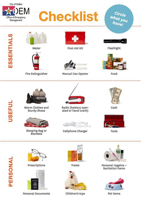 top 10 essential household items for emergency the wacky do you have an emergency disaster kit dallas city news